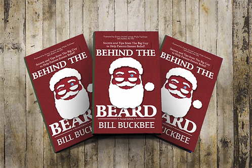 """""""Behind the Beard"""" Signed Book"""