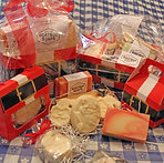Santa Soap Giftboxes by Goatboy Soaps