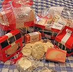 Santa Soap Giftboxes by Goatboy Soaps