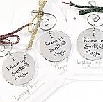 """Santa Magic"" Ornaments by Lasting Impressions"