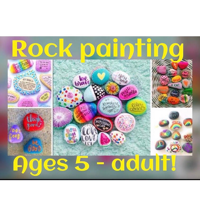 Kindness Rock Painting! All Ages!