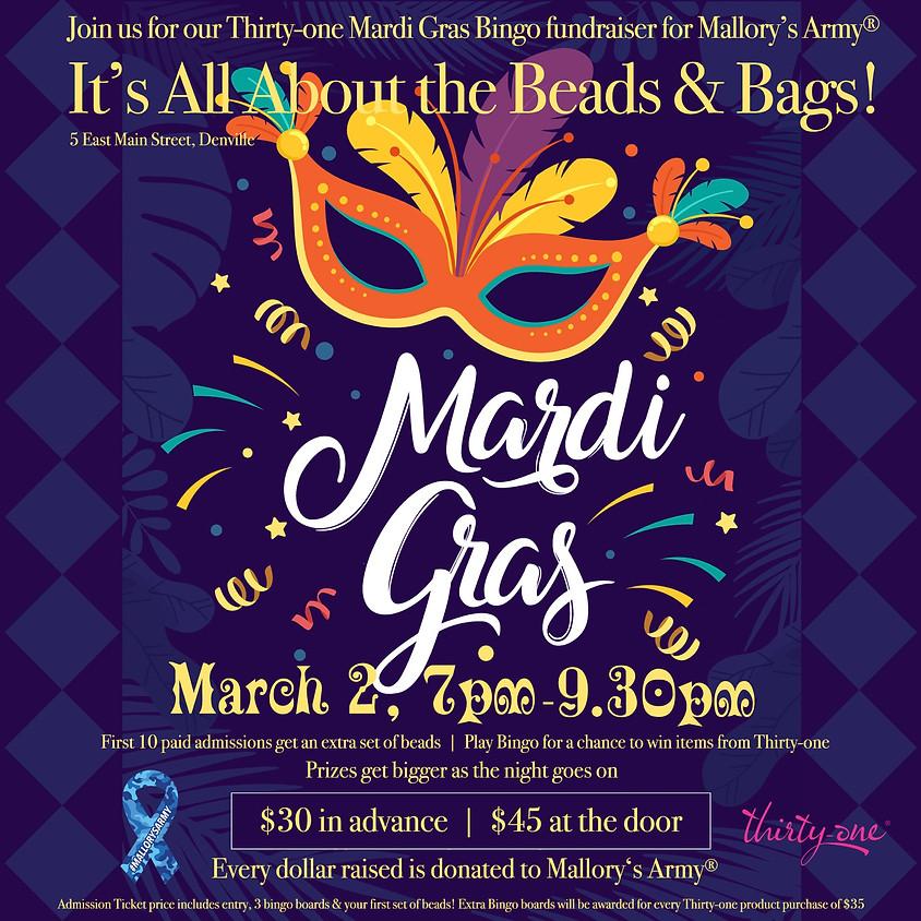 Mardis Gras Bingo Fundraiser