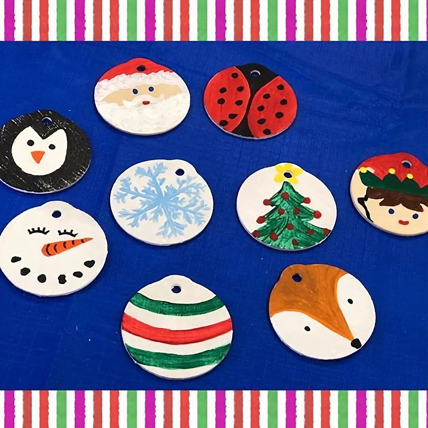 Paint Your Own Ornament