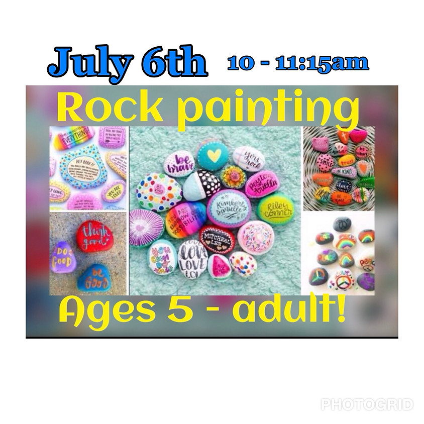 Kindness Rock Painting! 5 - Adult