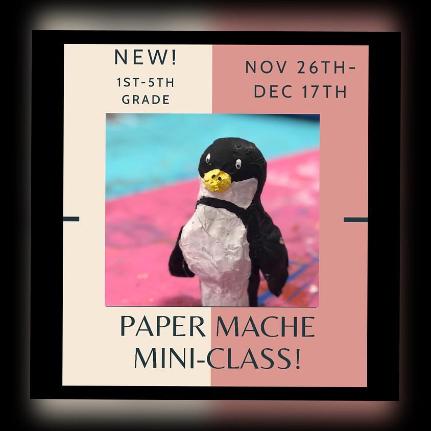 NEW Paper Mache Mini-Class. 4 Tuesdays!