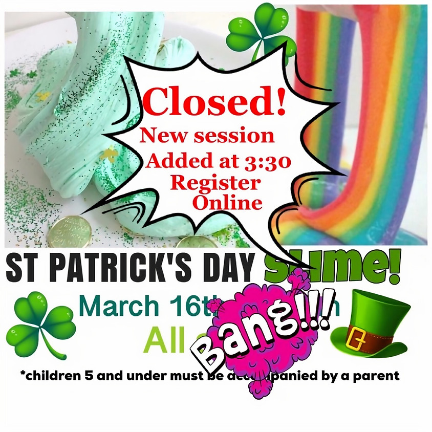 St. Patrick's Day SLIME SOLD OUT