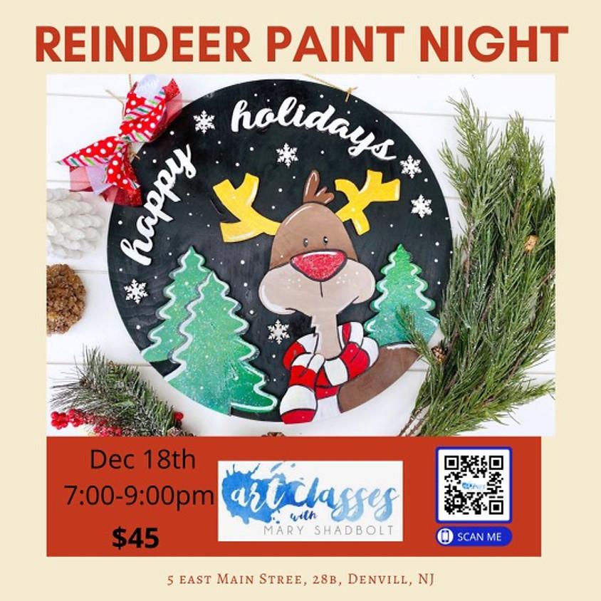 Reindeer Paint Night!