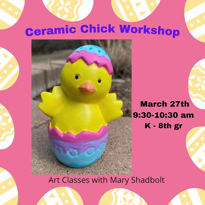 Ceramic Chick Painting Workshop