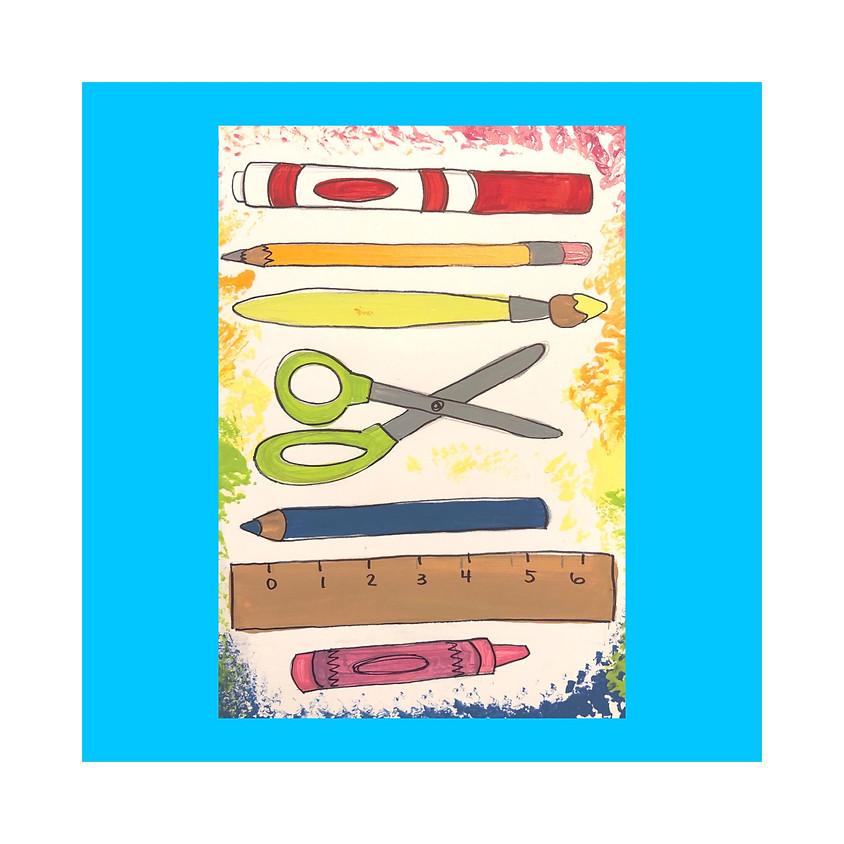 "Painting workshop K-8 ""Back to School"" (1)"