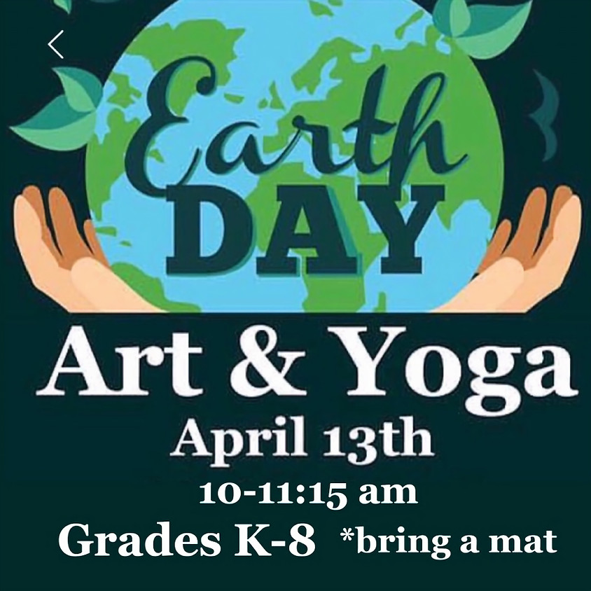 Earth Day Art & Yoga