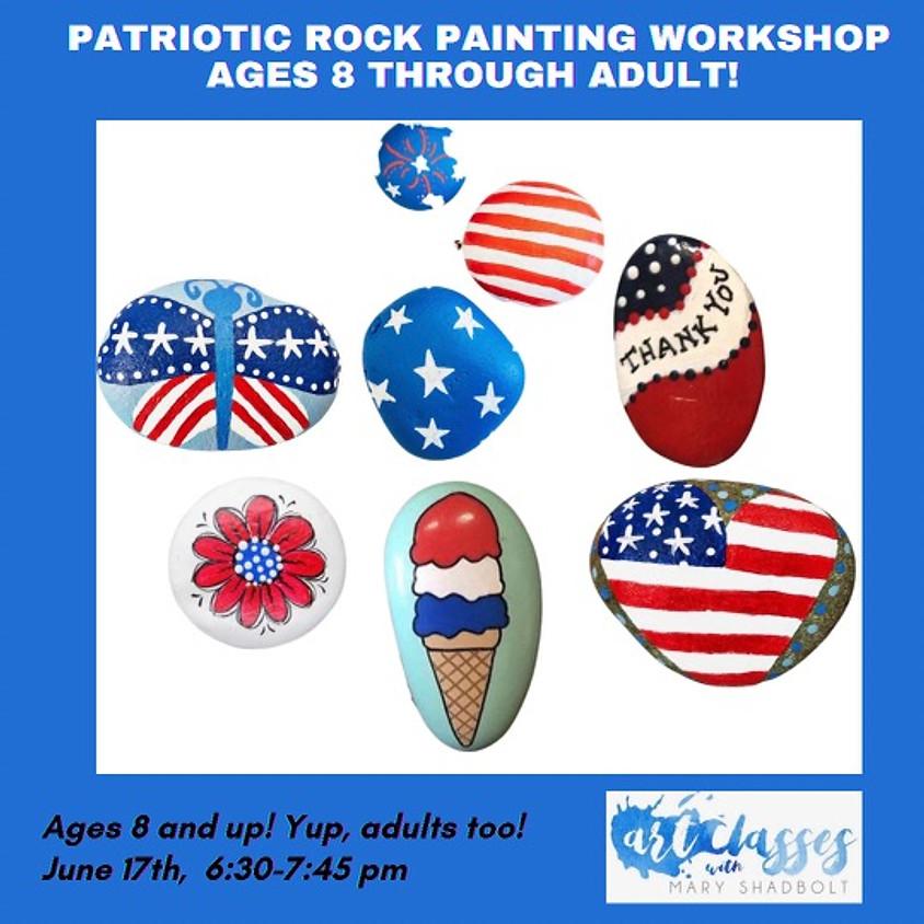 Rock Painting goes Patriotic!