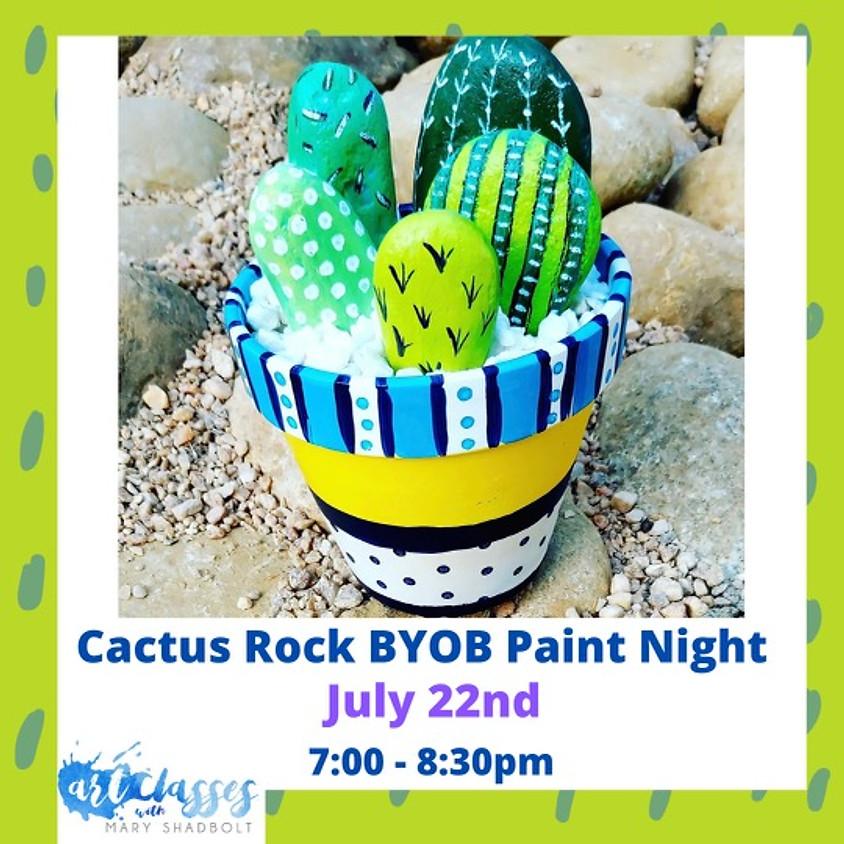 Cactus Rock BYOB Paint Party!