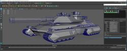 Maya 3D Low Poly