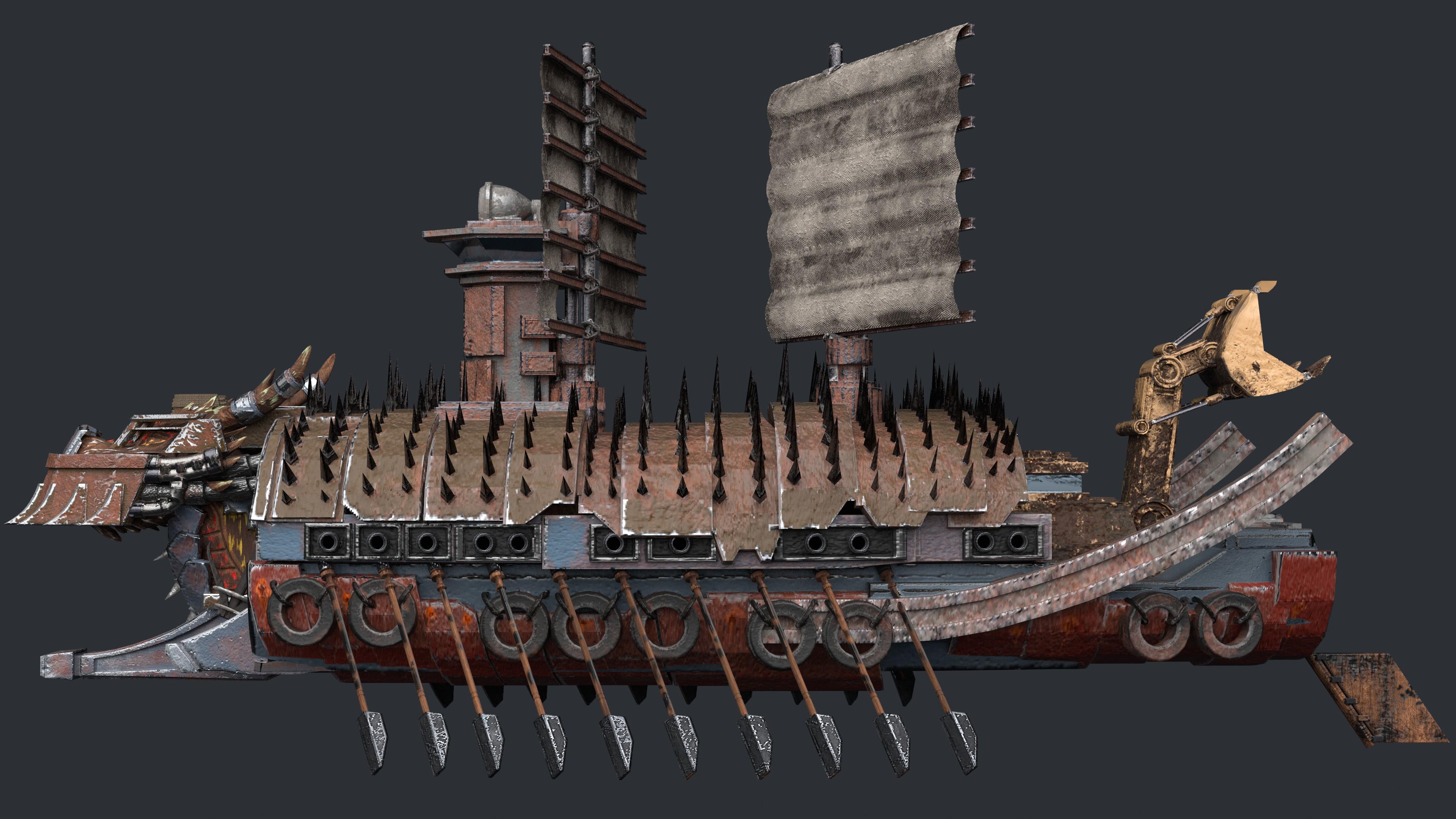 Apocalyptic Turtle Ship