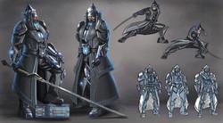 Admiral Yi Cyberpunk Version