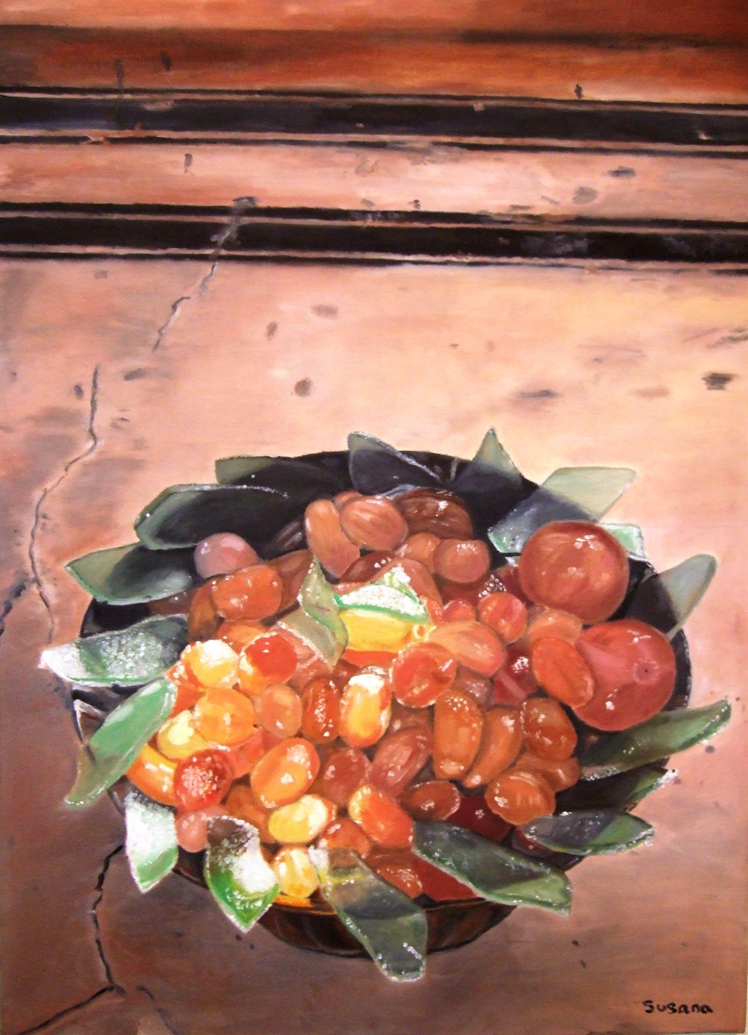 Vasija de frutas de Rajasthan