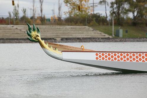 Queue de bateau dragon