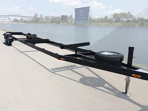 Small Dragon Boat trailer (2 axles)