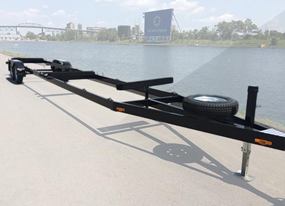 Petite remorque Dragon Boat (2 essieux)