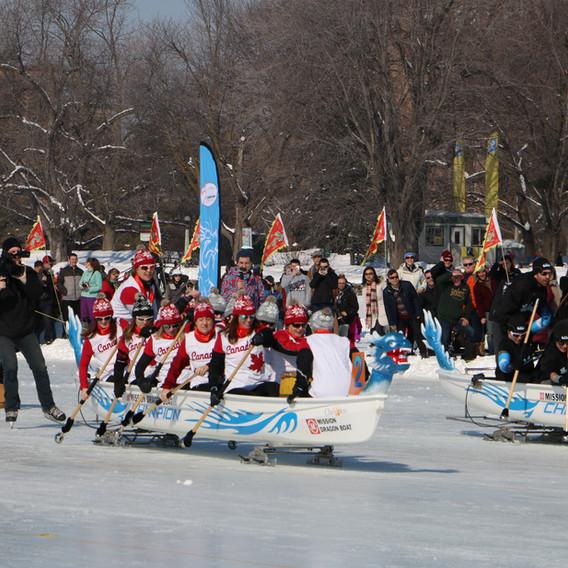 Ottawa Ice dragon boat festival