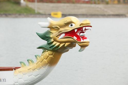 Tête de bateau dragon