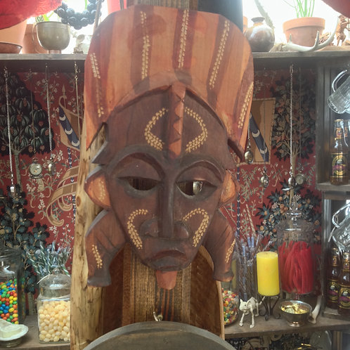 African king mask