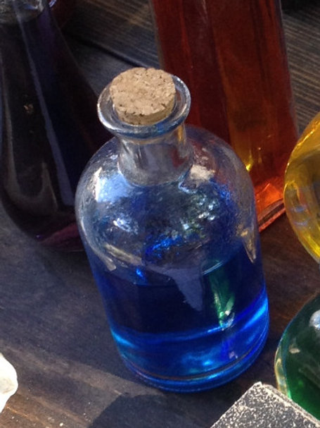 Manna potion bottle