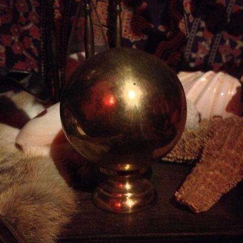 Brass bedknob