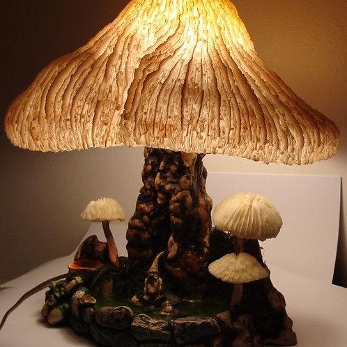 Coral Mushroom lamp