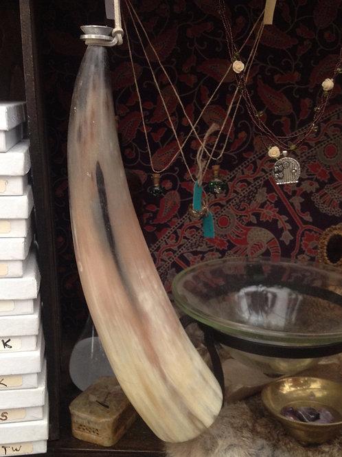 Viking battle horn