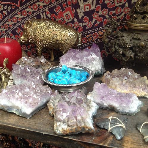 Amethyst crystal- lg