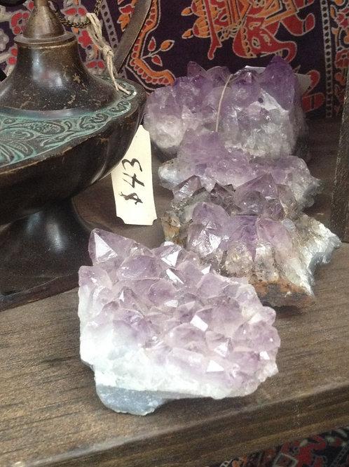 Amethyst crystal- medium