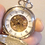 Thumbnail: Silver wind-up double hunter pocket watch