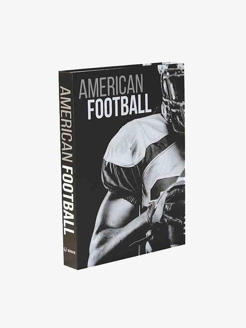 CAIXA LIVRO AMERICAN FOOTBALL