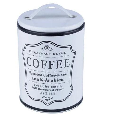 LATA METAL ROUND FRAME COFFEE BRANCA