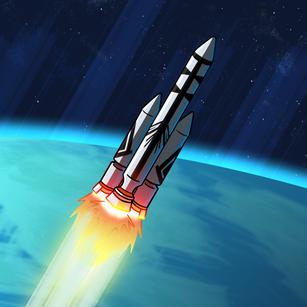 16. Rocket - Inktober 2020.png