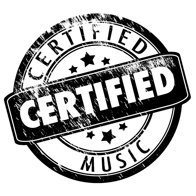 Certified Music Logo
