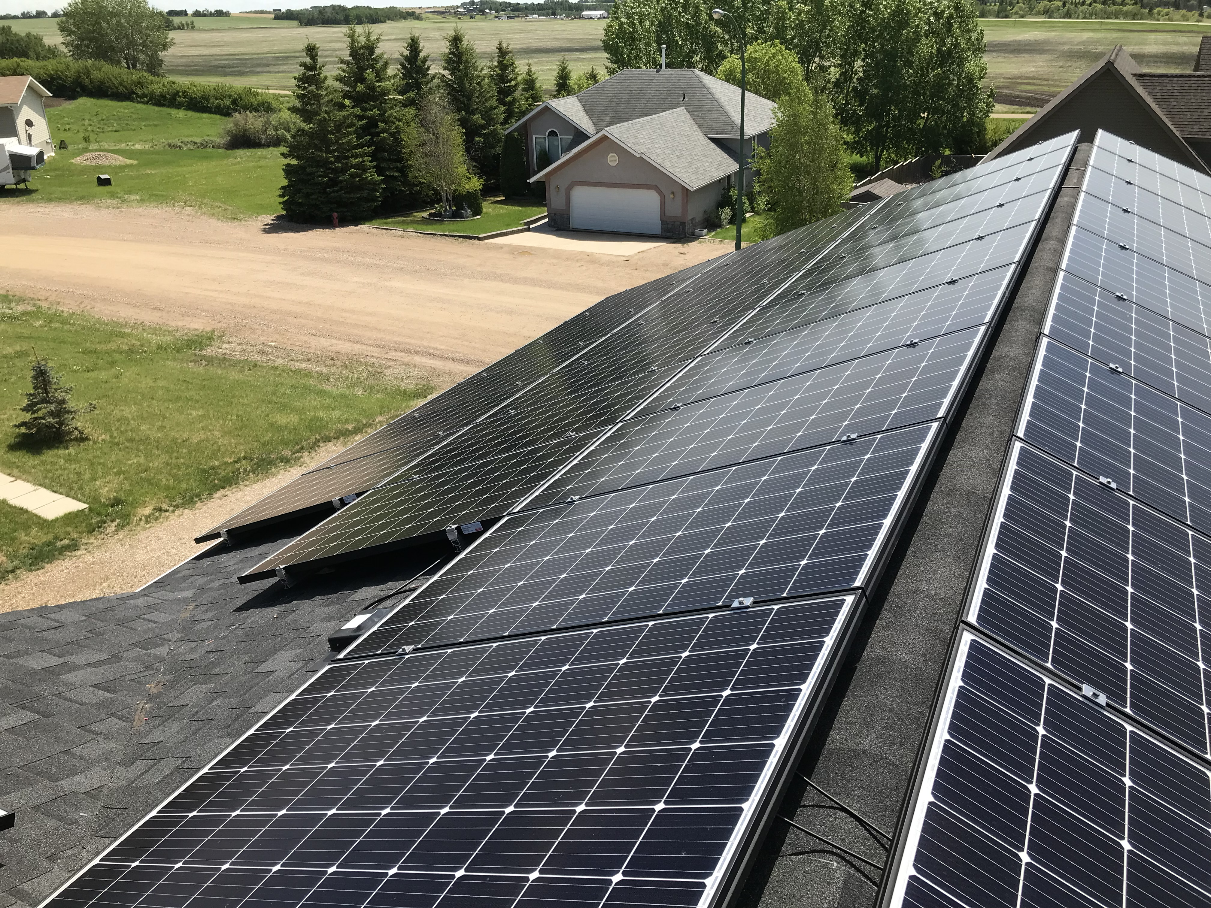 18.3 kWh Solar Panel System