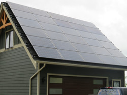 Solar Panel Installation for cabins