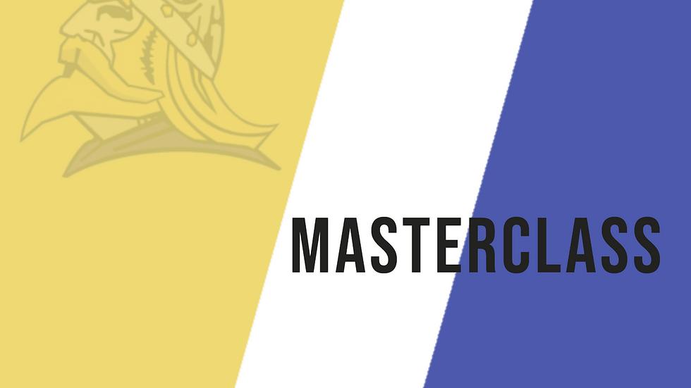 BTCC MASTERCLASS 11th December 2020