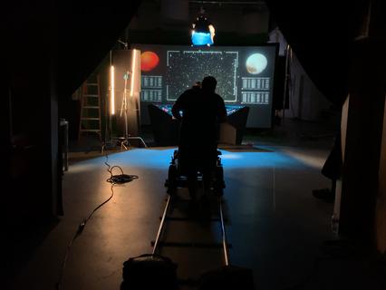 Rear Screen projection