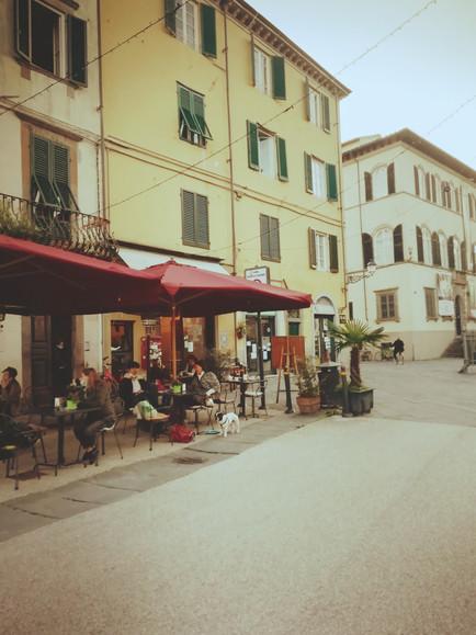 A Café in Piazza San Francesco