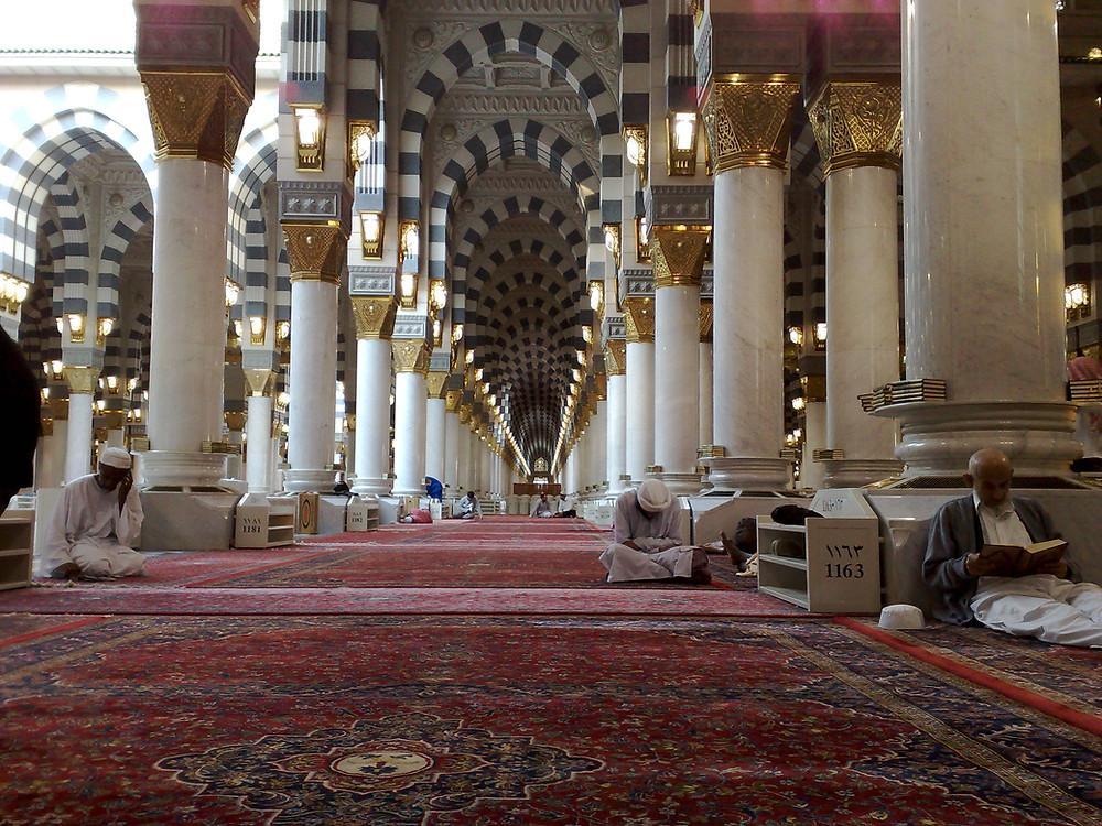 Marmer untuk pembangunan masjid