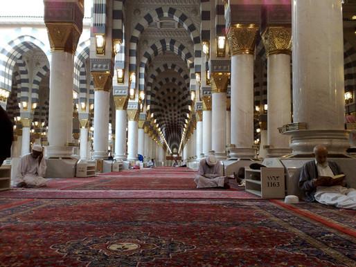 Ibadah di Masjid Jadi Lebih Sejuk Berkat Marmer