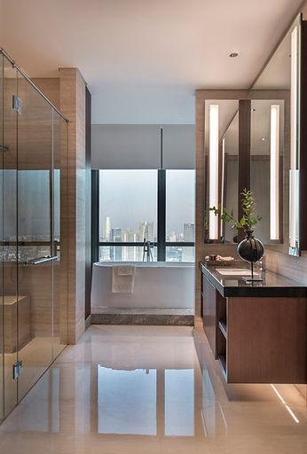 Desan marmer mewah untuk Master Bathroom dari Fagetti.