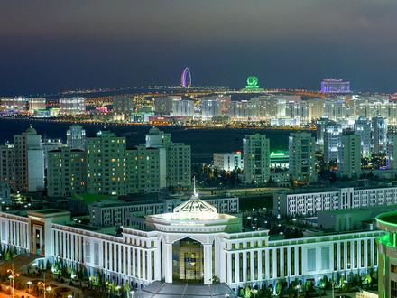 Keindahan Ashgabat, Ibu Kota Negara Berlapis Marmer Putih