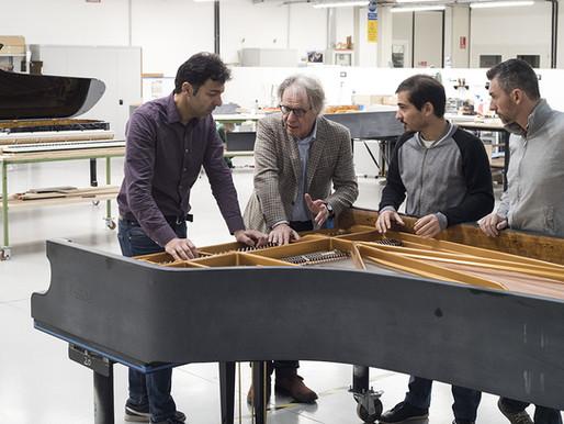Demi Menjamin Kualitas, Fazioli Hanya Produksi 140 Piano/Tahun
