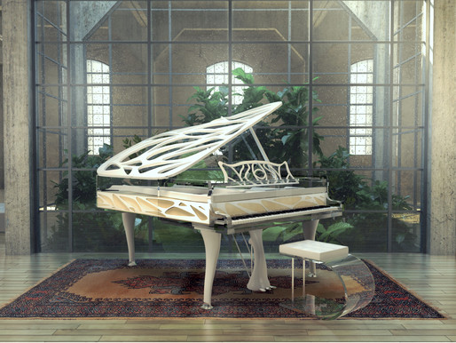 The Fairy Tale Piano: Bluthner Lucid Editions