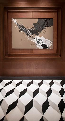 Desain interior marmer mewah untuk Corridor Bedroom dari Fagetti.