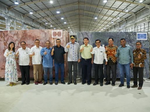 Fagetti dan Pemprov Aceh Siap Kerja Sama Kelola Pabrik Batu Alam di Aceh